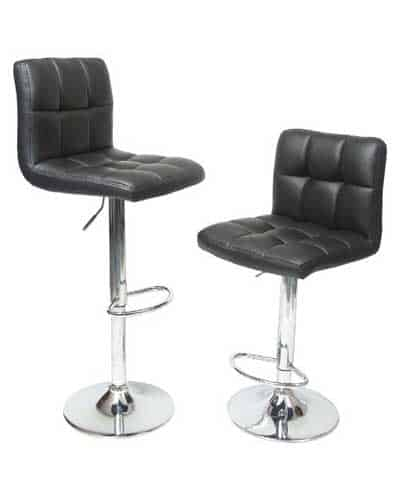 Roundhill-Furniture-Swivel-Black-Bonded-Bar-Stool