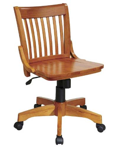 Armless-Banker's-Chair