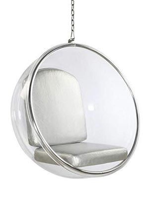 Aron-Living-AL10020-Bubble-Chair-Silver