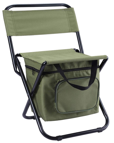 LEADALLWAY Foldable Camping Chair