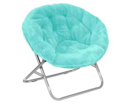 Mainstays-Faux-Fur-Saucer-Chair