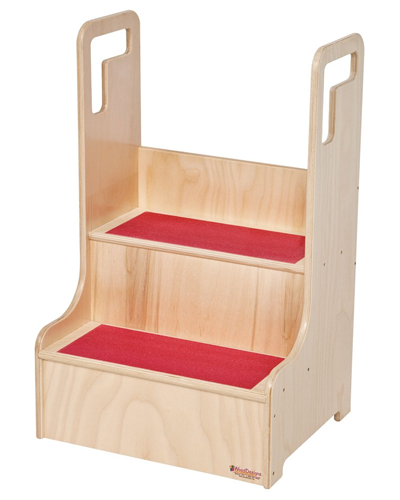 Molded Step up Stools from Wood Designs