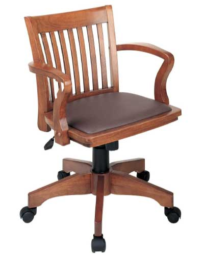 Office-Star-Deluxe-Wood-Bankers-Desk-Chair