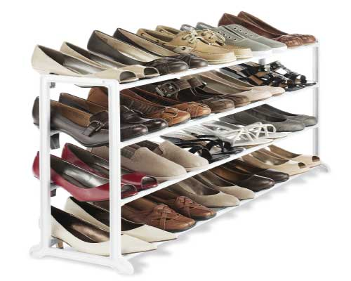 Whitmor-4-Tier-Floor-Shoe-Rack