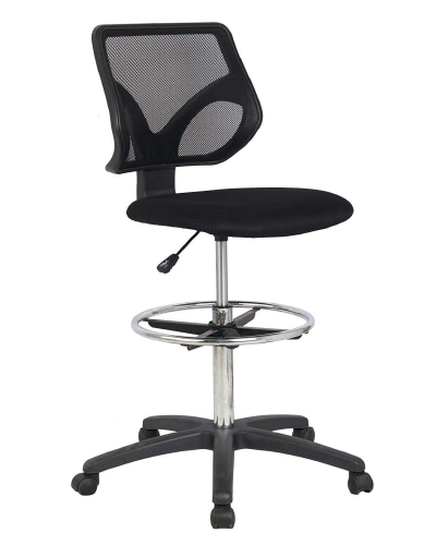 Cool Living Mesh Armless Drafting Chair