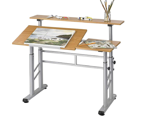 Safco Products 3965MO Split Level Drafting Table